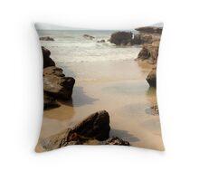 Caves Beach 1 Throw Pillow