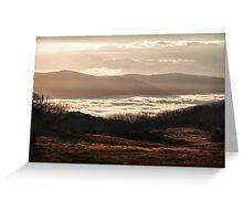 High Plains Sunrise Greeting Card
