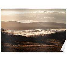High Plains Sunrise Poster