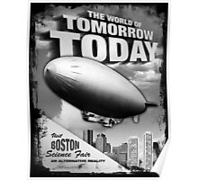 The World of Tomorrow. Today. Poster