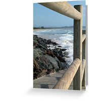 Seven Mile Beach - Lennox Head NSW Greeting Card