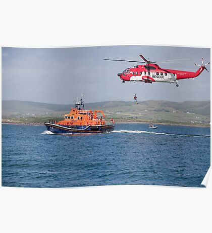 RNLI & Coast Guard Demo Poster