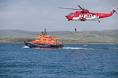 RNLI & Coast Guard Demo by AlanJLanders