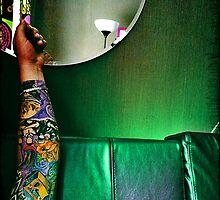Tattoo. Green. by Katerina Maslovskaya