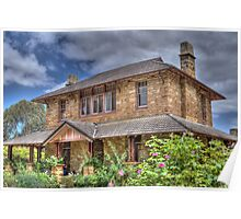 Deputy Governor's House, Berrima Jail, NSW, Australia Poster