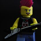 Lego Punk Rocker by Justin Gittins