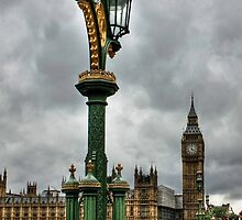Dark clouds over Westminster by Steve Bryant