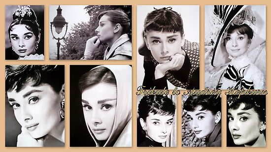 Tribute to Audrey Hepburn by ©The Creative  Minds
