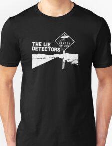 The Lie Detectors (white print) T-Shirt