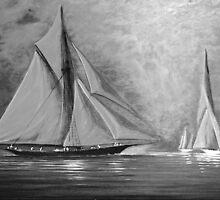 Misty Bay by jyruff