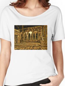 Beautiful courtyard with arches Women's Relaxed Fit T-Shirt