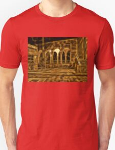 Beautiful courtyard with arches Unisex T-Shirt