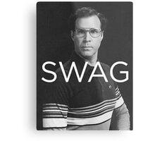 Will Ferrell Swagger Metal Print