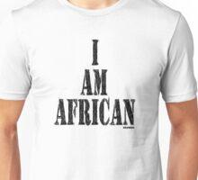 I AM AFRICAN Unisex T-Shirt