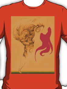 Hot Red Vestle T-Shirt