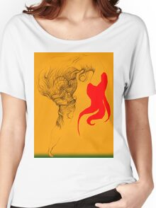 Hot Red Vestle Women's Relaxed Fit T-Shirt