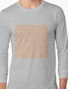 Louis vuitton TEXT 1 Long Sleeve T-Shirt