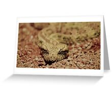 Deathly stare Greeting Card