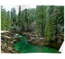 River Of Many Greens Poster