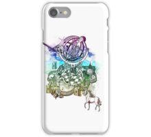strange unicorn garden iPhone Case/Skin