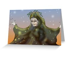 Old Mother Earth Greeting Card
