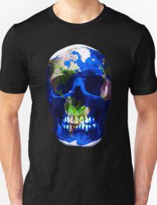 Earth Skull  T-Shirt