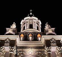 Catholic Cathedral at Night - Arad, Romania by Slaughter58
