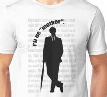 the indispensable Mycroft Holmes Unisex T-Shirt