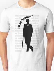 the indispensable Mycroft Holmes T-Shirt