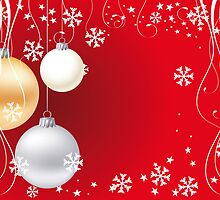 Christmas background by schtroumpf2510