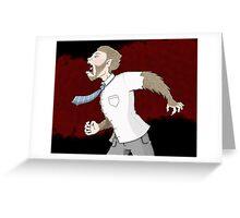Werewolf Greeting Card