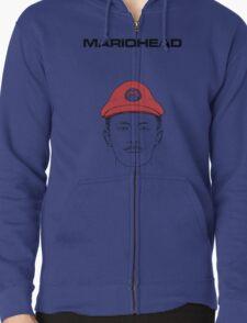 Mariohead Zipped Hoodie