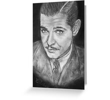 Clark Gable -  young Greeting Card