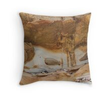 Caves Beach - Looking Up Throw Pillow