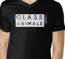 Glass Animals Galaxy design Mens V-Neck T-Shirt