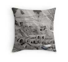 Some people live in caves - Turkey Throw Pillow