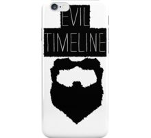 Evil Timeline iPhone Case/Skin
