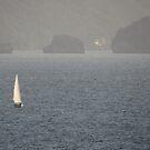 Los Arcos with a Sailing Boat - con un Velero by PtoVallartaMex