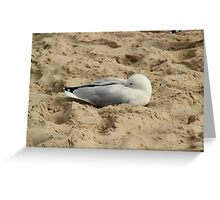 Caves Beach - Snuggling Greeting Card