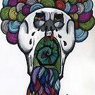 Skullclown vomits  by correctanswer
