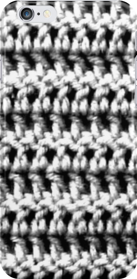 Black and white double crochet  by BettyBanana