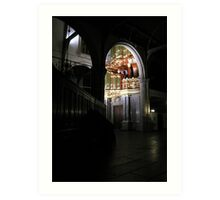 Moreau-orgel St. Janskerk Gouda from another Point of View Art Print