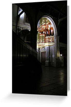Moreau-orgel St. Janskerk Gouda from another Point of View by Hans Bax