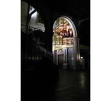 Moreau-orgel St. Janskerk Gouda from another Point of View Photographic Print