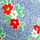 Vintage Fabric Blues by BettyBanana