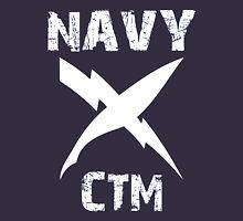US Navy CTM Insignia - White Unisex T-Shirt