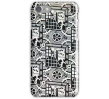 B&W Soviet Design iPhone Case/Skin