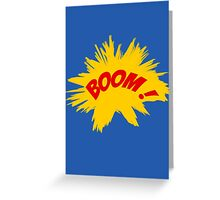 BOOM! Greeting Card