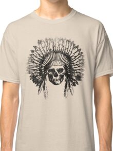 Vintage Chief Skull Design Classic T-Shirt