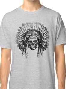 Vintage Chief Skull Design Classic T-Shirt